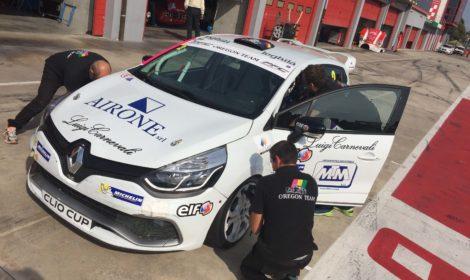 """""""Chiusura"""" positiva nella Clio Cup Italia per l'Oregon Team"""