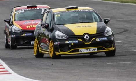 Oregon Team a Vallelunga per il terzo round della Clio Cup Press League by Renault Italia
