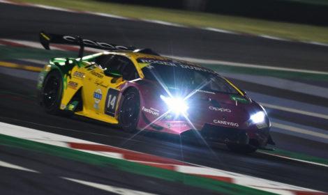 Bene la prima per l'Oregon Team nel Lamborghini Super Trofeo Europa