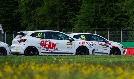 Oregon Team con Berto e Stefana all'Hungaroring nella Clio Cup Europe